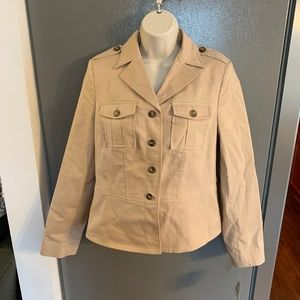 Apostrophe Jacket Khaki Short Trench Coat 8